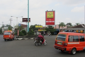 Bundaran Berkoh, Jl. Sudirman Timur, Purwokerto